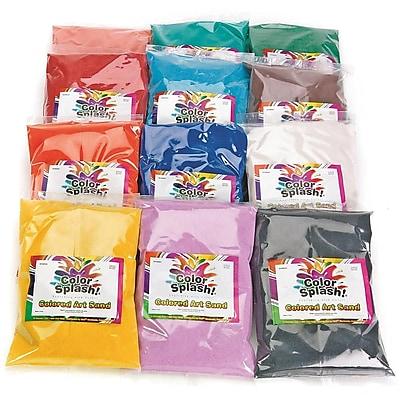 S&S® 12 Colors 24 lbs. Fine Terrarium Sand Bag, 12/Pack