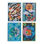 """S&S® 5"""" X 7"""" Celestial Sand Art Board, 12/Pack"""