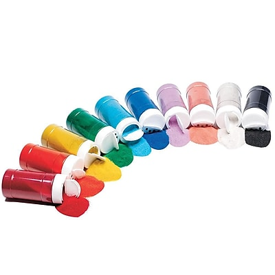 S&S® 12 oz. Colored Art Sand, 10/Pack