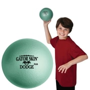 "Gator Skin® Dodge Plus Middle School Dodgeball, 6 1/2""(Dia.), Jade Green"