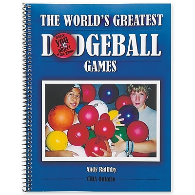 S&S® World's Greatest Dodgeball Games Book