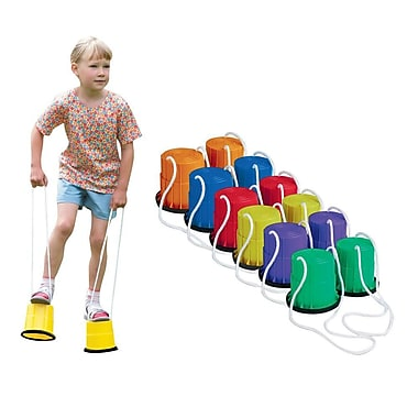 S&S® Plastic Bucket Stilts Set, 6/Pack