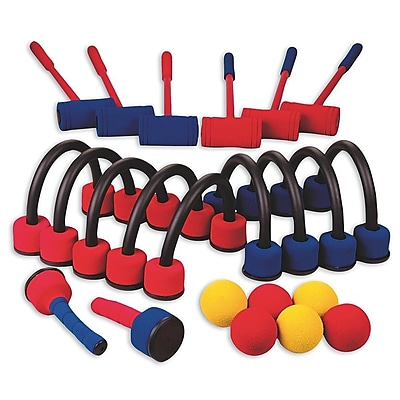 S&S® Foam Croquet SiX-Player Set