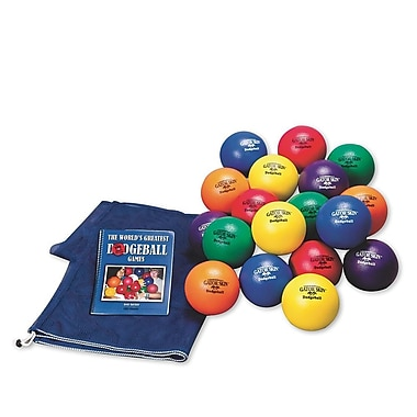 Gator Skin® Elementary School Dodgeball Easy Pack, 6