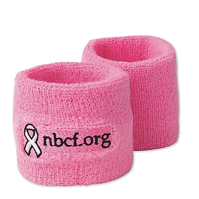Spectrum™ NBCF Wristbands, Pink