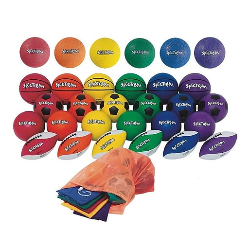 Spectrum™ Sports Ball Plus Pack, Intermediate Size (W10571)