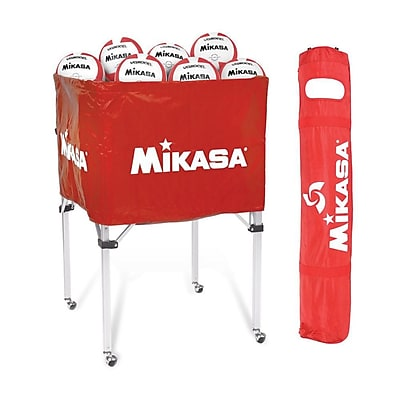 Mikasa® Volleyball Cart, Scarlet