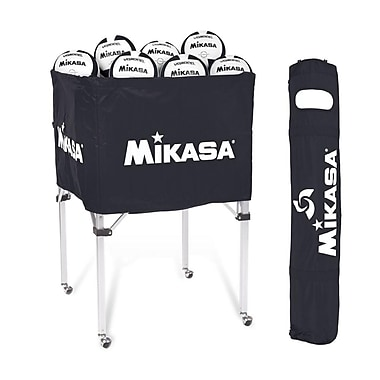 Mikasa® Volleyball Cart, Black