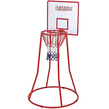 Spectrum™ 4'(H) Mini Steel Basketball Goal With Backboard