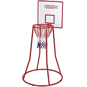 Spectrum™ 4'(H) Mini Steel Basketball Goal With Backboard