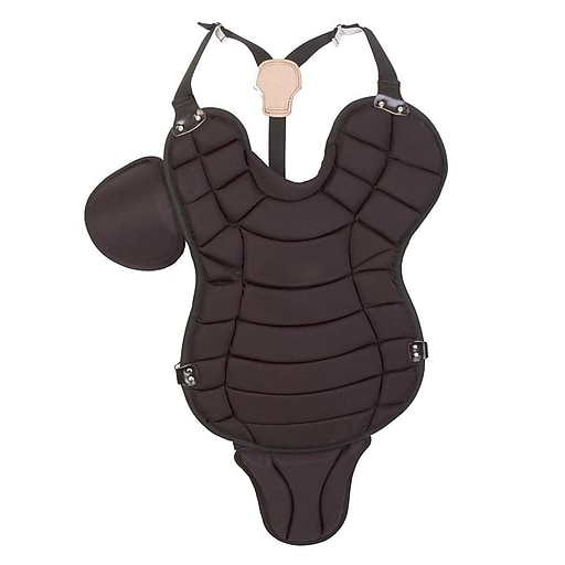 """Champion Sports 15"""" Pony League Chest Protector With Tail, Black"""