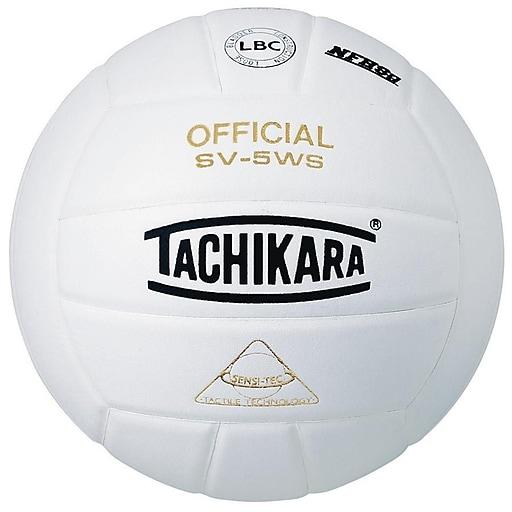"Tachikara® Sensi-Tec® Competition Volleyball, 25.6 - 26.4"", White"