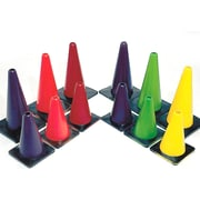 "Spectrum™ 12"" Poly Cone, 6/Set"