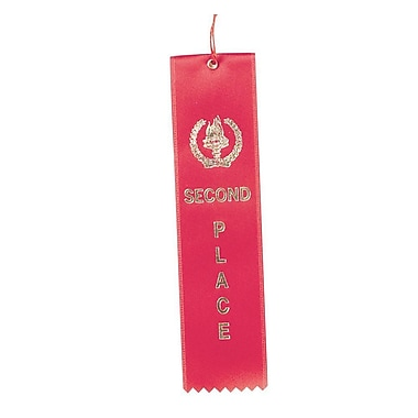 Image Awards Red Second Place Award Ribbon