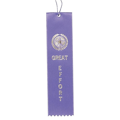 Image Awards Purple Great Effort Award Ribbon