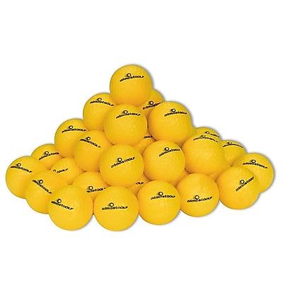 almostGOLF™ Trainer Golf Balls, Yellow, 36/Pk