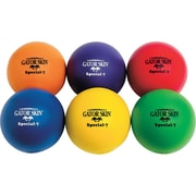 "Gator Skin® Special Ball, 7""(Dia.), Assorted, 6/Set"