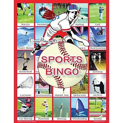 S&S® Lucy Hammett Sports Bingo Game