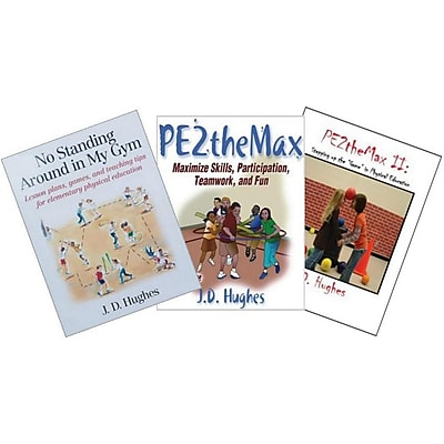 S&S® JD Hughes Physical Education Triple Play Book, 3/Pack