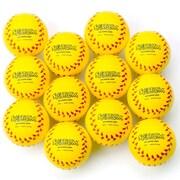 "Spectrum™ 3"" Foam Baseballs, Bright Yellow"