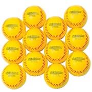 "Spectrum™ 3 1/2"" Foam Baseballs, Yellow"