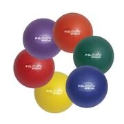 "S&S® Spectrum™ P.G. Sof's™ Soft Vinyl Balls, 8""(Dia.), Assorted, 6/Set"
