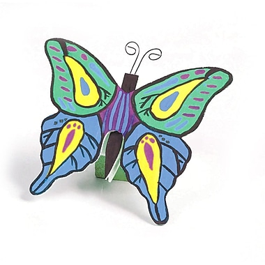 S&S® Unfinished Wooden Butterflies, 12/Pack