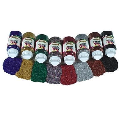 Color Splash XM533 Non-Tarnishing Glitter, 1 lbs. 8/Pack