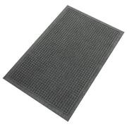 """Guardian EcoGuard Plastic Wiper Mat, 120""""L x 36""""W, Charcoal (EG031004)"""