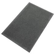 "Guardian EcoGuard Plastic Wiper Mat 36"" x 24"", Charcoal"