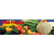 "Guardian Grocery Mat, 120"" x 36"", Fresh Produce Themed"