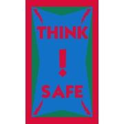 "Guardian Think Safe Floor Mat, 60"" x 36"""