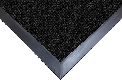 "Guardian UltraGuard Polypropylene Wiper Mat, 72"" x 48"", Charcoal"