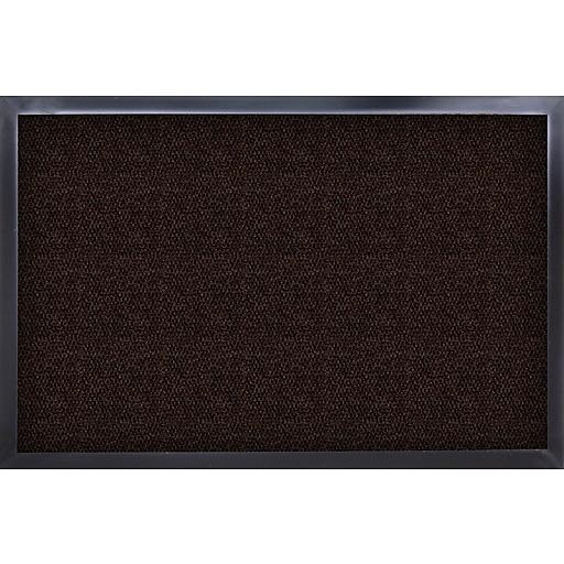 "Guardian UltraGuard Polypropylene Wiper Mat, 72"" x 48"", Chocolate"