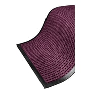 "Guardian WaterGuard Wiper Scraper Indoor Mat, 120"" x 36"", Burgundy"