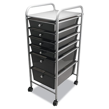 Advantus 6-Drawer Rolling Organizer