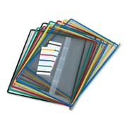 Tarifold® Replacement Pivoting Pocket For Wall Unit and Desktop Starter Set, Assorted, 10/Pack