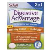 Digestive Advantage® Tummy Relief Tablets, 50/Pack