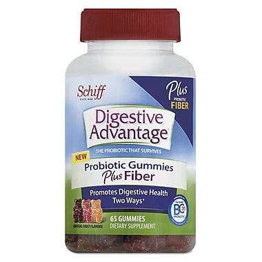 Digestive Advantage® Probiotic Plus Fiber Gummies, 65/Pack