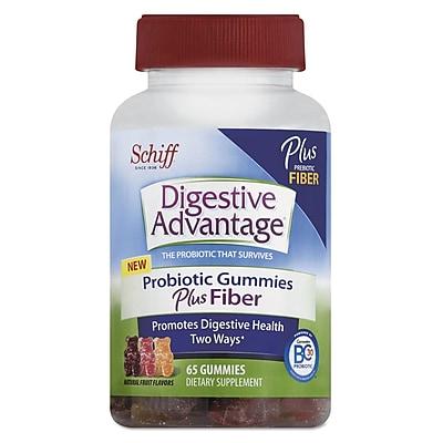Digestive Advantage® Probiotic Plus Fiber Gummies, 65/Pack