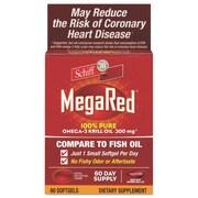 Schiff® MegaRed® Omega-3 Krill Oil Softgels, 300 mg, 60/Pack