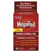 Schiff® MegaRed® Omega-3 Krill Oil Softgels, 300 mg, 90/Pack