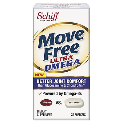 Move Free® Ultra Omega Joint Comfort Softgels, 30/Pack