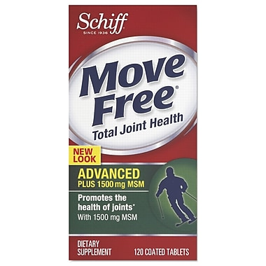 Move Free® Advanced Plus MSM Total Joint Health Tablets, 120/Pack