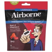 Airborne® Immune Support Supplement Lozenge, Cherry, 20/Pack