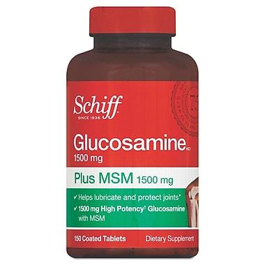 Schiff® Glucosamine Plus MSM Tablets, 1500mg, 150/Pack