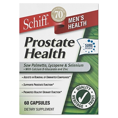 Schiff® Prostate Health Capsules, 60/Pack