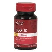 Schiff® CoQ-10 Enzyme Softgels, 200mg, 30/Pack