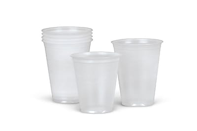 Medline Disposable Cold Plastic Drinking Cups, 3.5 oz., 2500/Pack 522451