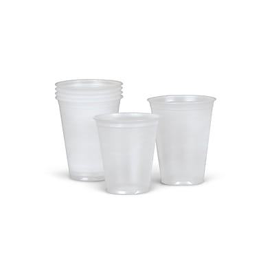 Medline® Disposable Cold Plastic Drinking Cups, 3.5 oz., 2500/Pack